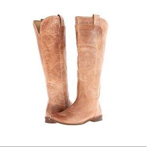 Frye Paige Tall Riding Boot Size 8.5B